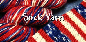 Want a quick and impressive knitting project? Try our hand dyed self striping sock yarn.
