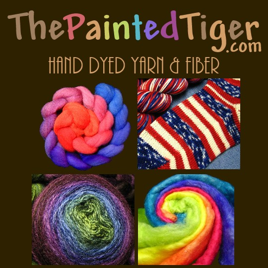 Hand Dyed Sock Yarn, Spinning Fiber, and Monthly Clubs by The Painted Tiger