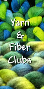 Be surprised every month with a new hand dyed yarn or fiber in our Tiger Club!