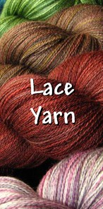 Treat yourself to luxurious hand dyed Zephyr or Silk lace yarn!