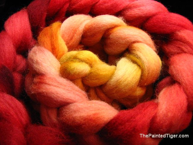 Autumn Maples Shetland Combed Top