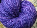 Grape Ape - Superwash Merino and Nylon Sock Yarn