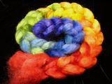 Blended Rainbow Gradient Wensleydale