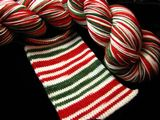 Candy Cane Stripe Journey Sock Yarn