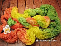 Citrus Splash - Panda Sock Yarn