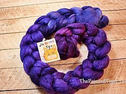 Deepening Twilight 60 40 Polwarth Silk