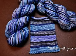 Denim Stripe - Journey Sock Yarn