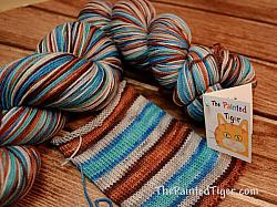 Derelict Door - Self Striping Safari Sock Yarn