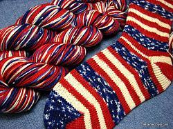 Grand Old Flag - Safari Sock Yarn
