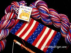 Grand Old Flag - Journey Sock Yarn