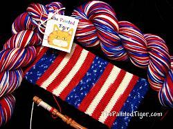 Grand Old Flag - Journey Sock Yarn