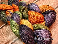 Great Pumpkin - Tiger Tweed Sock