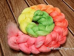 Hibiscus Gradient Alpaca Merino Silk