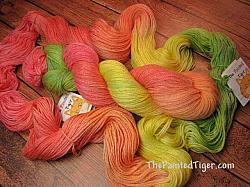Hibiscus Panda Sock Yarn