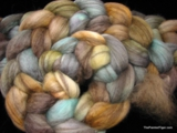 Alpine - Mixed BFL Wool Top - 4 oz