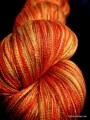 Autumn Blaze - 20/2 Spun Silk Lace Yarn