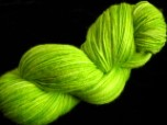 Lime - Semi Solid Superwash Merino and Nylon Sock Knitting Yarn