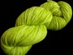 Limeade - Semi Solid Hand Dyed Superwash Merino & Nylon Sock Yarn