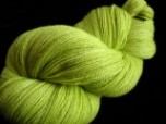 Olive What She's Having - Hand Dyed Merino Wool Lace Yarn