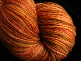 Cinnamon Toast - Hand Dyed Sock Yarn - Superwash Merino & Nylon