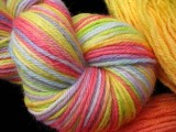 Rainbow - on Jaguar Worsted