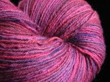 Berry Compote - BFL Worsted, one pound