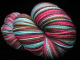 Chocolate Bomb Pop - Tiger Twist - New 4oz skein