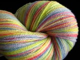 Pastel Rainbow - Tabby Merino Lace