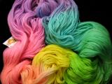 Pastel Rainbow - One Pound BFL Worsted