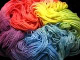 Rainbow 2 - 1 pound of BFL Worsted