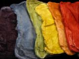Harvest Rainbow - Mawata Silk Hankie Set
