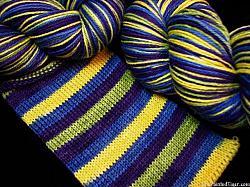 Iris Stripe - Safari Sock Yarn