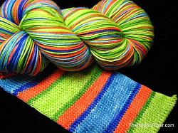 Koi Pond Stripe - Journey Sock Yarn