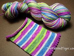 Lavender in the Mountains - Safari Sock Yarn