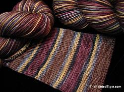 Mississippi Mud - Journey Self Striping Sock Yarn