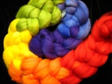 Rainbow Gradient - SW Merino - 4oz