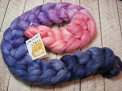 Receding Twilight Alpaca Merino Silk