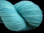 Robin's Egg - Superwash Merino & Nylon Fingering Yarn