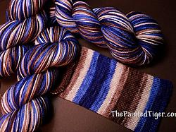 Rugged Stripe - Safari Sock Yarn