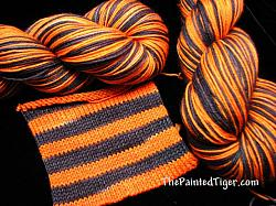Tiger Stripe Journey Sock Yarn