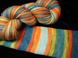 Villa Nove Stripe Safari Sock Yarn