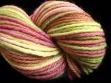 Pine & Burgundy - Bulky Peruvian Wool Yarn