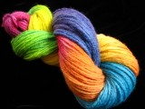 Rainbow Oops! - Worsted Peruvian Wool Yarn